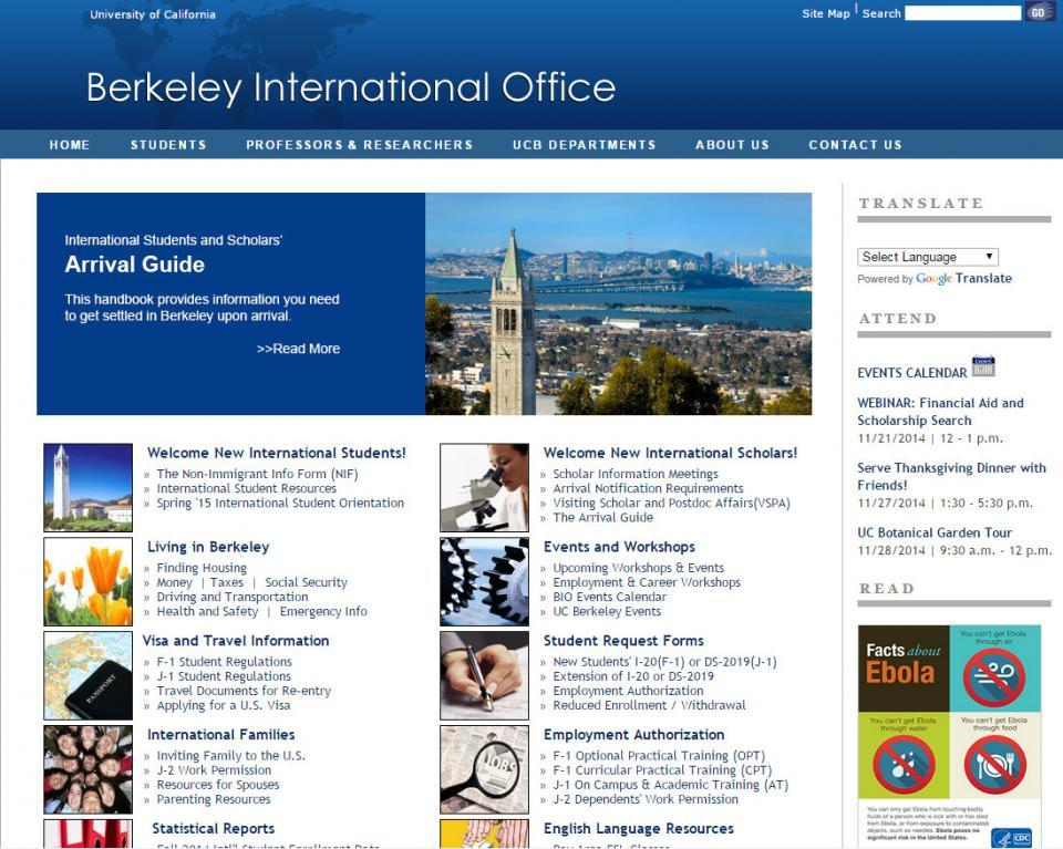 Berkeley International Office